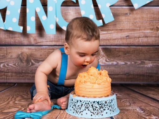 Smash Cake Derek